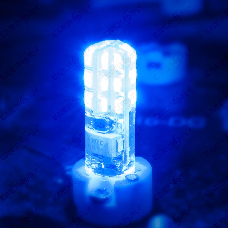 G4 led lampe smd spot silikonberzogen kein glas blau g4 led lampe smd spot silikonberzogen kein glas blau geht nicht kaputt bei drcken oder herunterfallen 12v 15w amazon baumarkt parisarafo Images