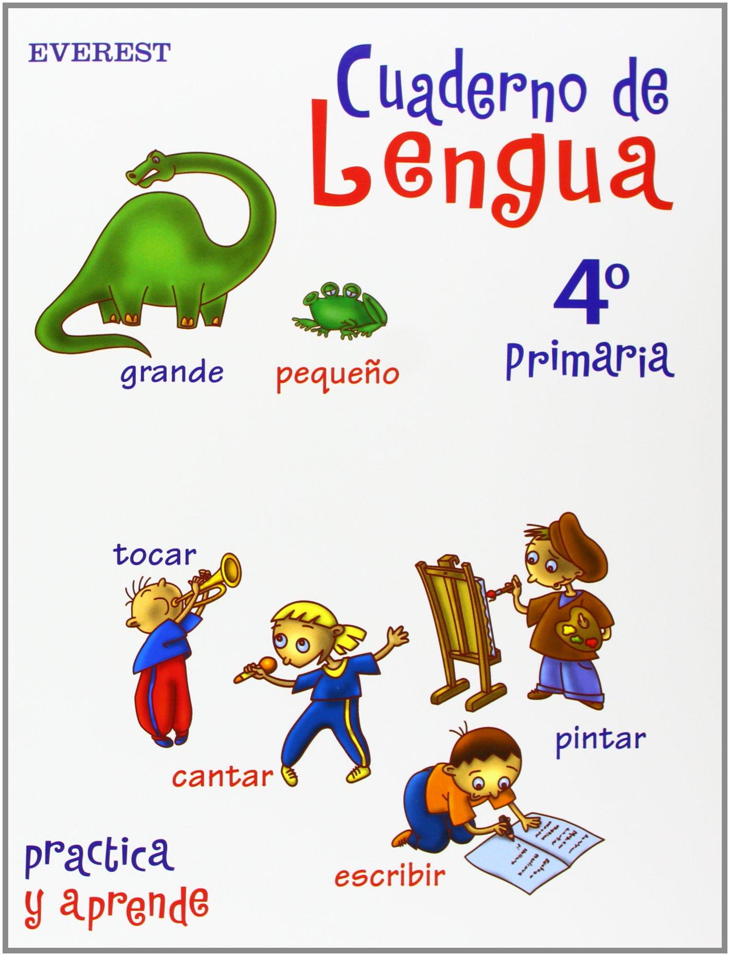 Cuaderno de Lengua 4? Primaria (Spanish) Paperback