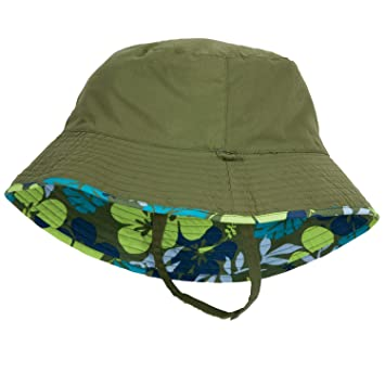 Image Unavailable. Image not available for. Color  Olive Green Baby Boy Sun  Hat ... 32d76aed80ed