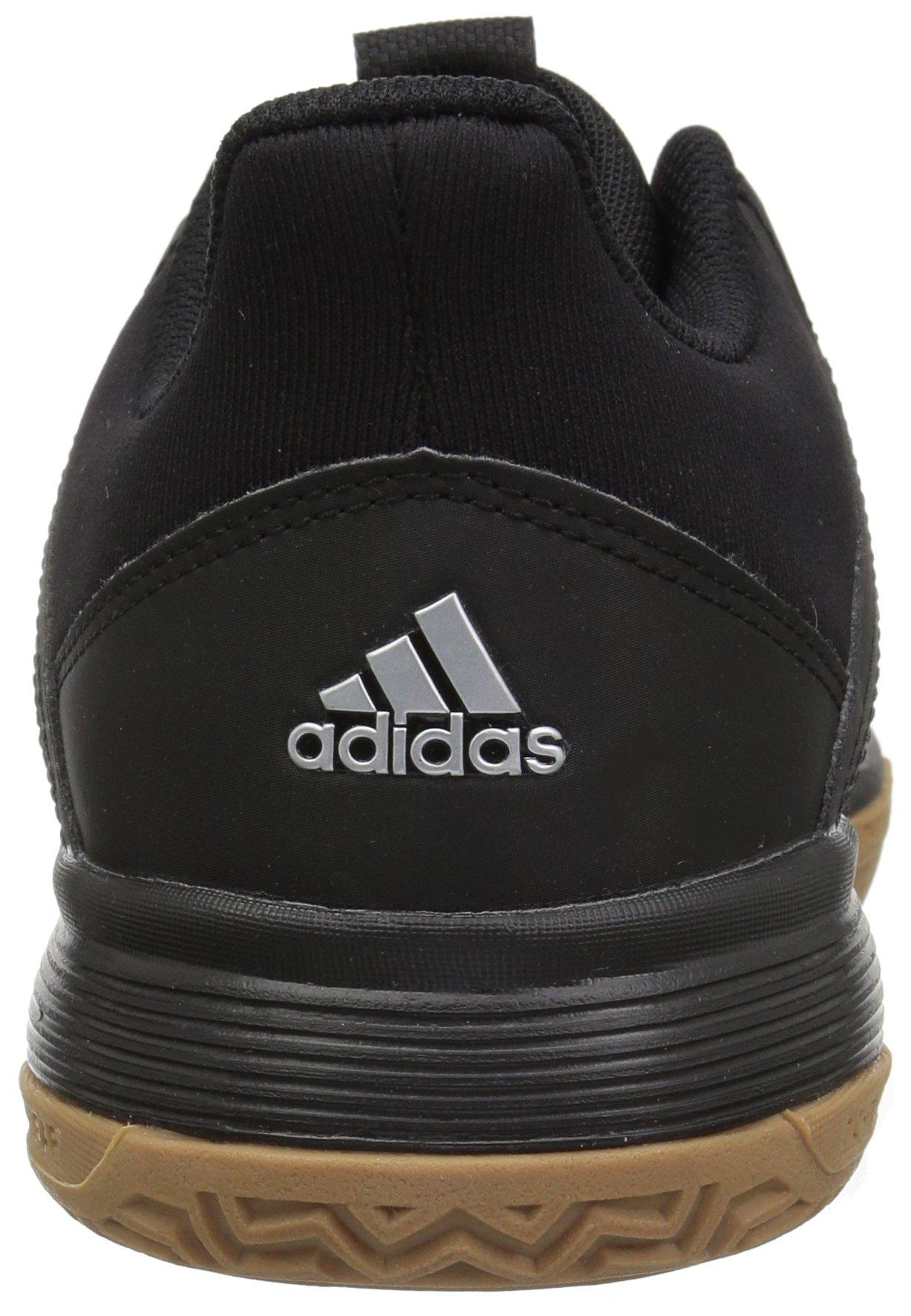 adidas Women's Ligra 6 Volleyball Shoe, Black/Silver Metallic/White, 7 M US by adidas (Image #2)