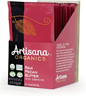 product image for Artisana Organics Raw Pecan Butter with Cashews (10 Pack (1.06 oz))