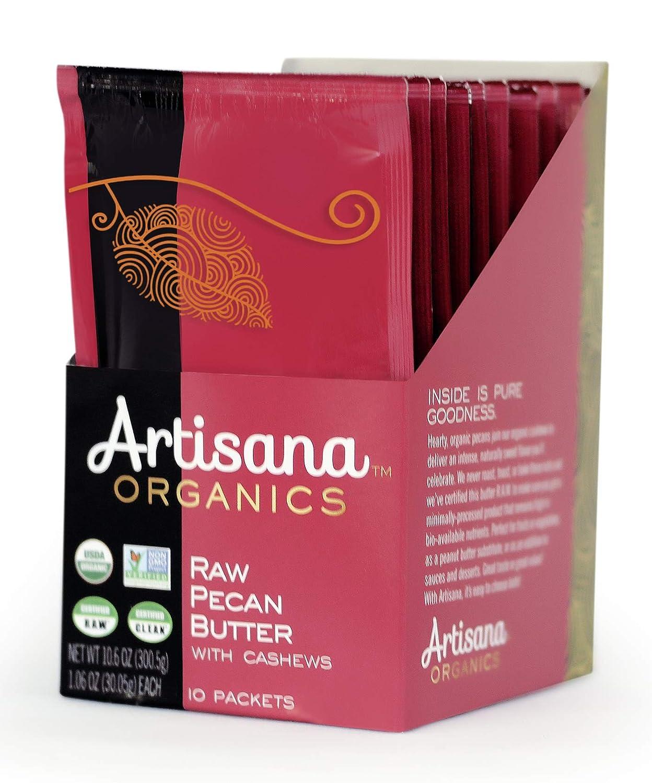 Artisana Organics – Pecan Nut Mantequilla con anacardos, dos ...