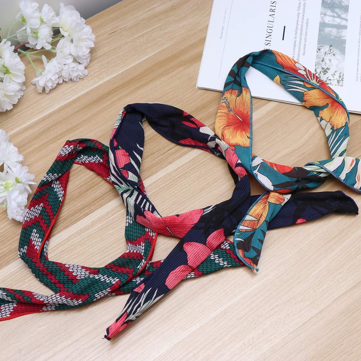 3 pezzi Lurrose Fasce per capelli con fiocco