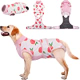 Kuoser Recovery Suit for Dogs Cats After Surgery, Professional Pet Recovery Shirt Dog Abdominal Wounds Bandages, Substitute E