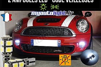 Pack de luces de posición de led blanco Xenón para coche