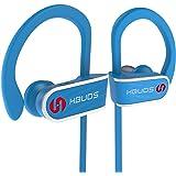 Hbuds H1 wireless bluetooth headphones, Outdoor earbuds HD Stereo Sweatproof IPX7 Waterproof Sports Earphones with Mic Best Wireless Headphones for Running Sport Workout Noise Cancellation Headset
