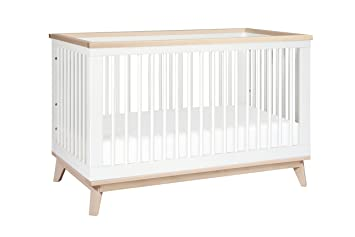 Babyletto Scoot 3 In 1 Convertible Crib With Toddler Bed Conversion Kit,  White