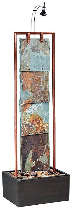 Amazon.com: Kenroy Home #50151COP Montpelier Indoor Floor Fountain ...