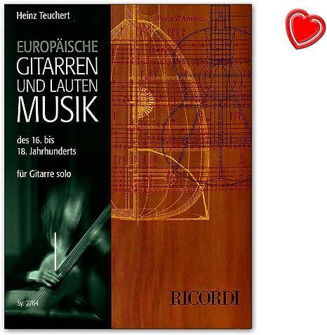 Europea de guitarra y reproducir música del siglo 16 hasta 18 para ...