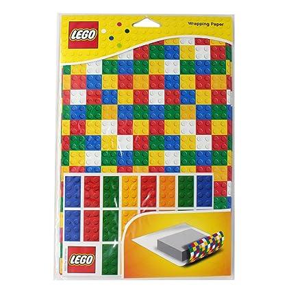 Amazon.com: Lego Gift Wrapping Paper Lego Bricks Set: Toys & Games