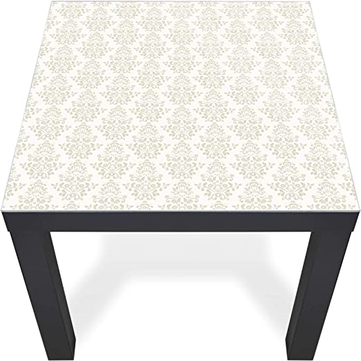 banjado Glasplatte Ikea Lack Tisch 55x55cm Abdeckplatte