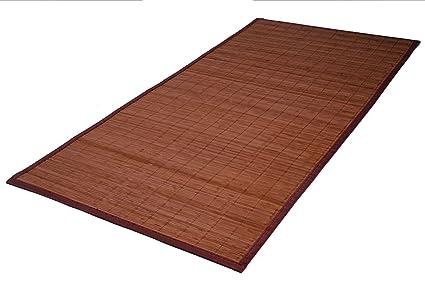 Unbekannt Bambus Teppich 140 X 70 Cm Amazon De Kuche Haushalt