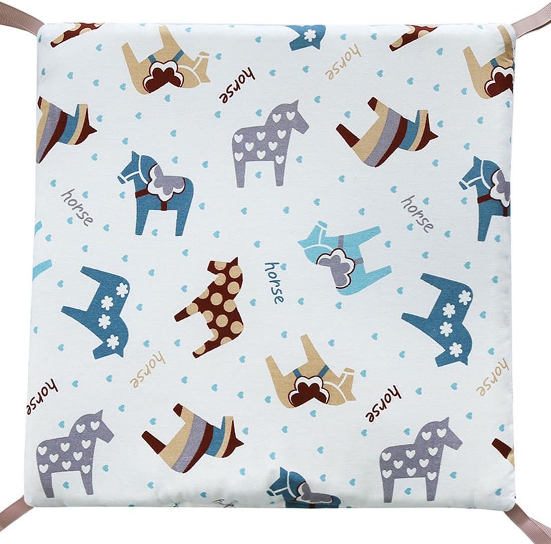 30 cm con Algod/ón Beige Jiyaru Ropa para cuna camas de beb/é 6 Piezas Set Protector de Cuna 30
