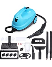 MLMLANT Steam Cleaner System,2L Water Tank Capacity 1500W Heavy Duty Steam Mops with 20-Piece Accessory Set - Multi-Purpose and Multi-Surface for Kicthen Floors