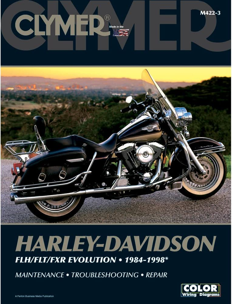 [ZSVE_7041]  Amazon.com: 1 - Clymer Harley-Davidson FLH/FLT/FXR Evolution (1984-1998):  Automotive | 1986 Flht Wiring Diagram |  | Amazon.com