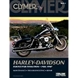 Clymer Repair Manual for Harley FLH FLT FXR 84-98