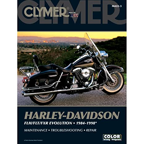 amazon com clymer repair manual for harley flh flt fxr 84 98 rh amazon com 1998 Harley-Davidson Electra Glide Models 1998 Harley Electra Glide Standard
