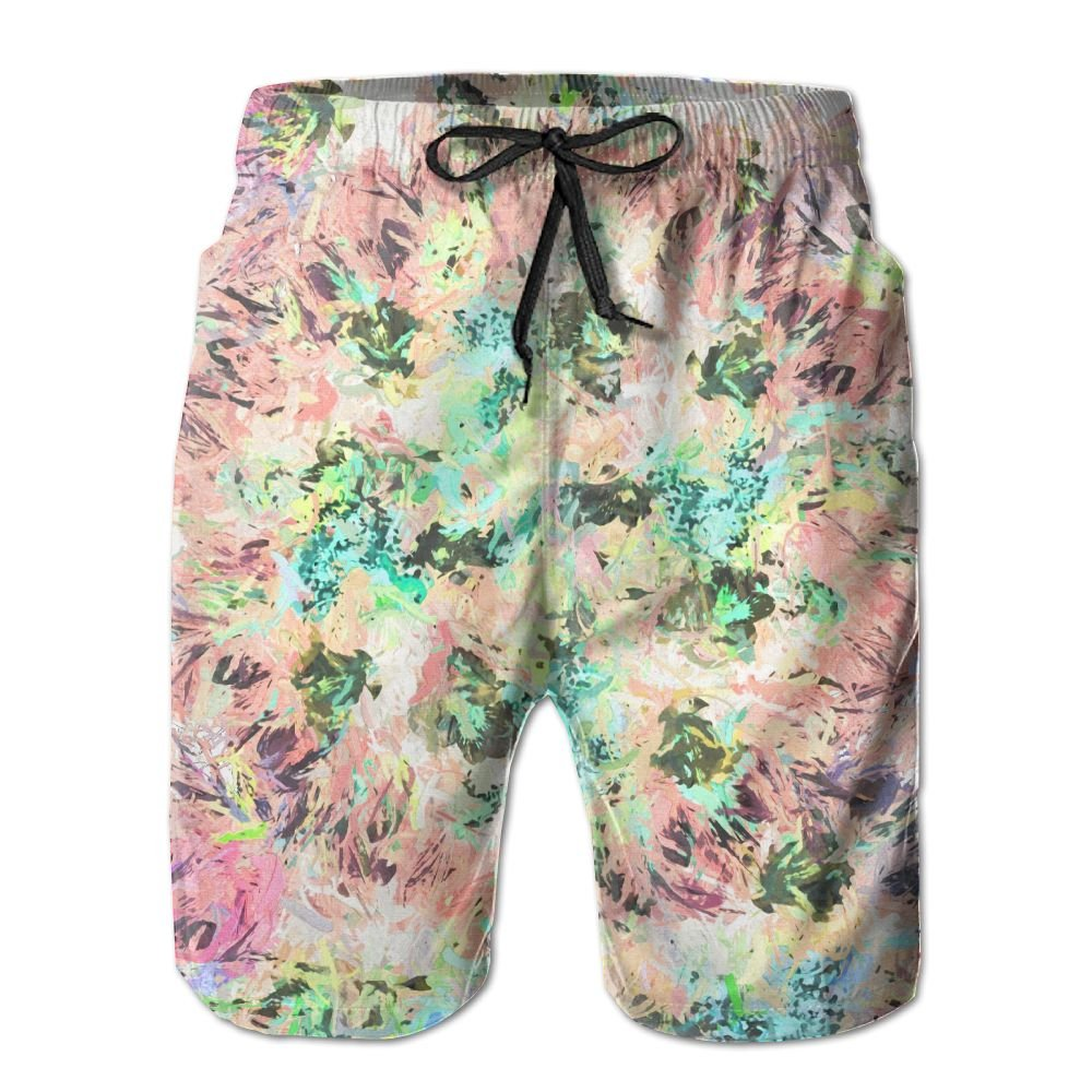 NGFF Wedding Flowers Summer Casual Style Adjustable Beach Home Sport Shorts