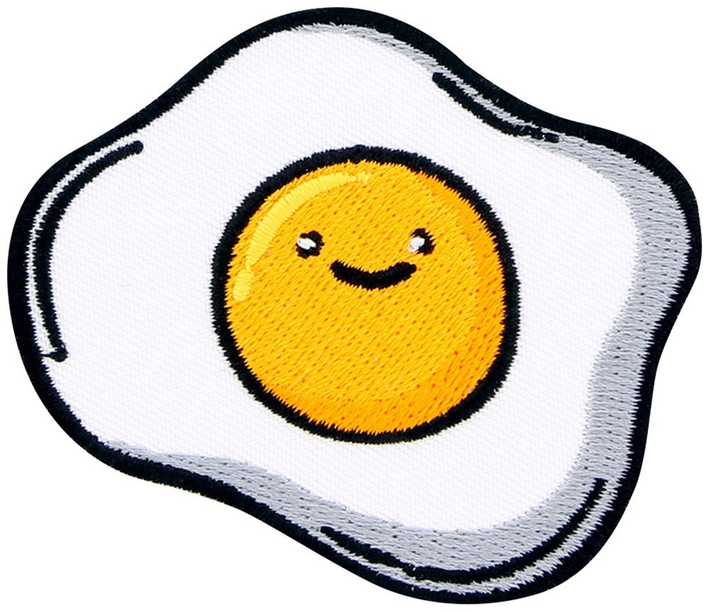 Funny Fried Egg Patch