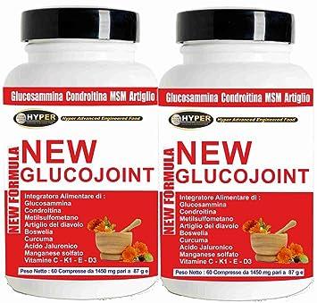 Chondroitin-Sulfat plus D-Glukosamin Puls MSM mischte komplexes Mischungs-Pulver