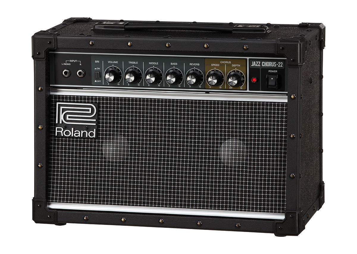 Roland JC-22 Jazz Chorus - Amplificador estéreo (30 W, 2 x 6,5 ...
