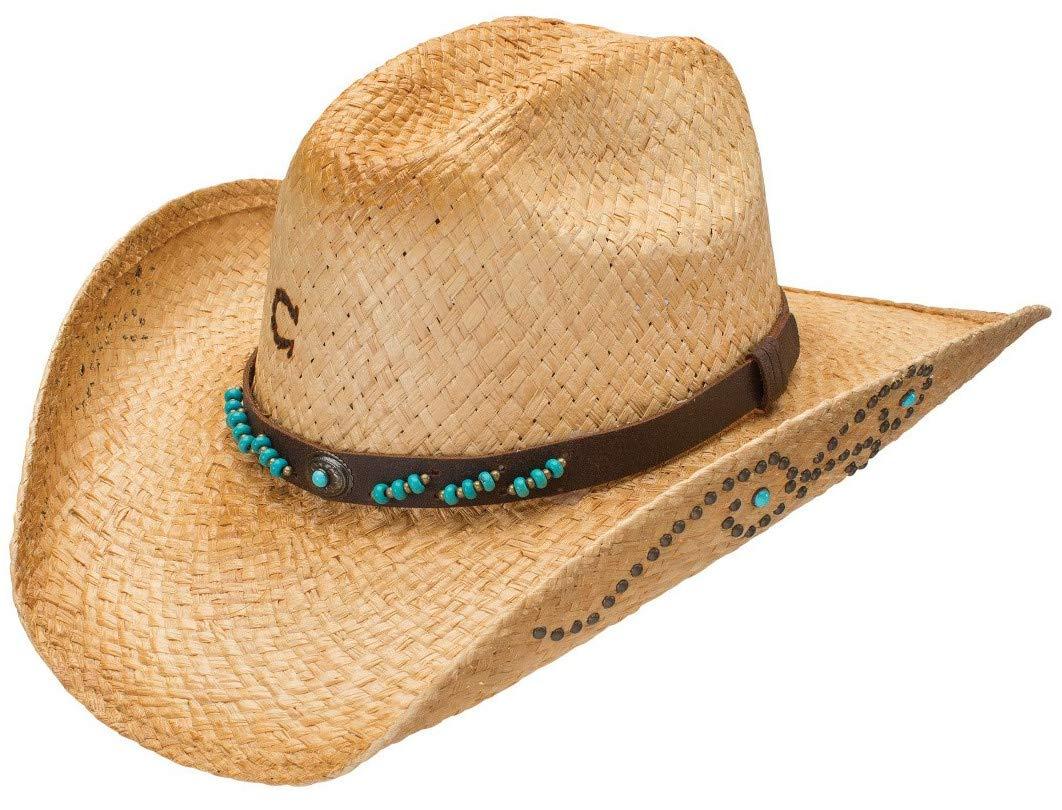 Charlie 1 Horse Costa Maya Straw Cowgirl Hat