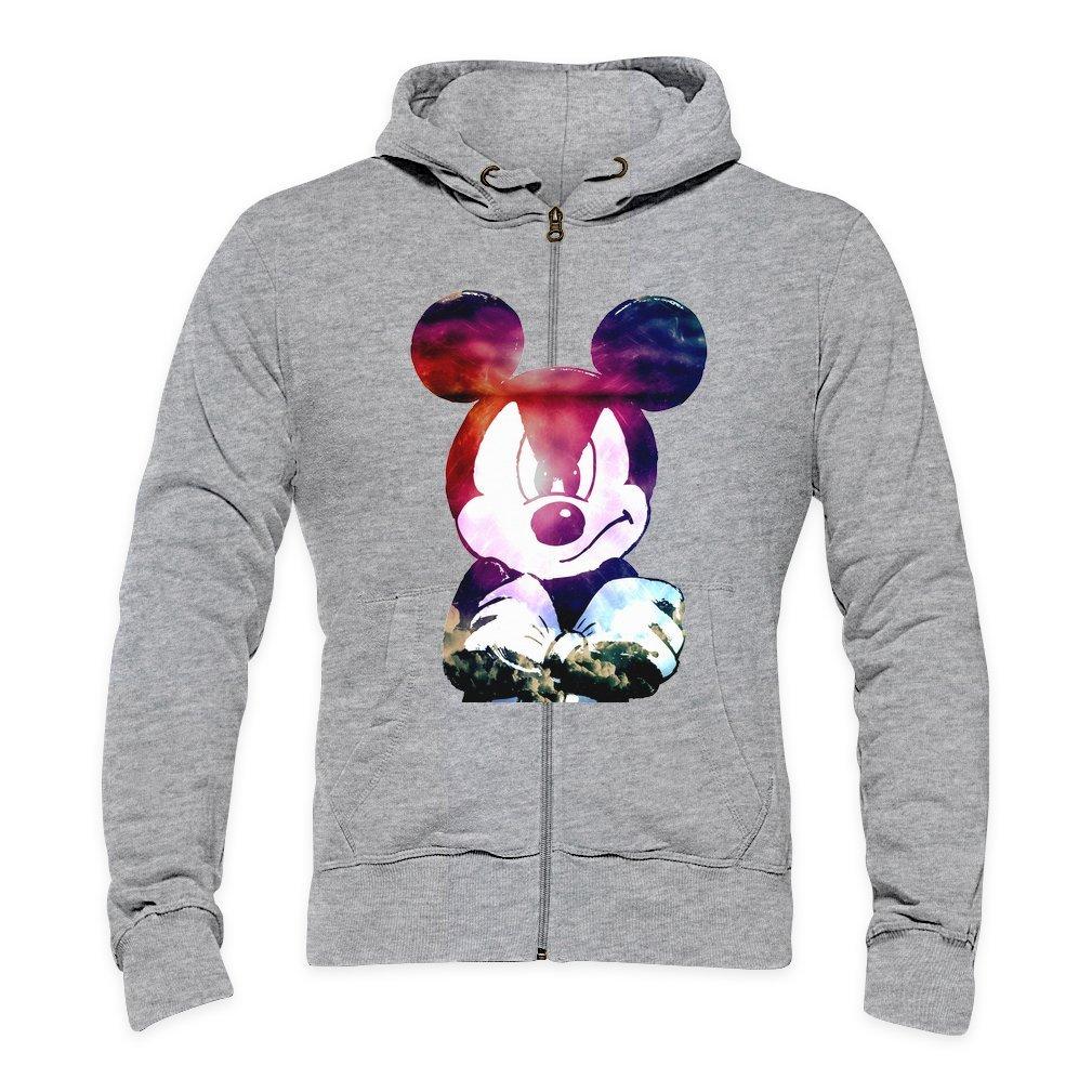 Galaxy Angry Mickey Mouse Mens Zipper Hoodie: Amazon.es: Ropa y accesorios