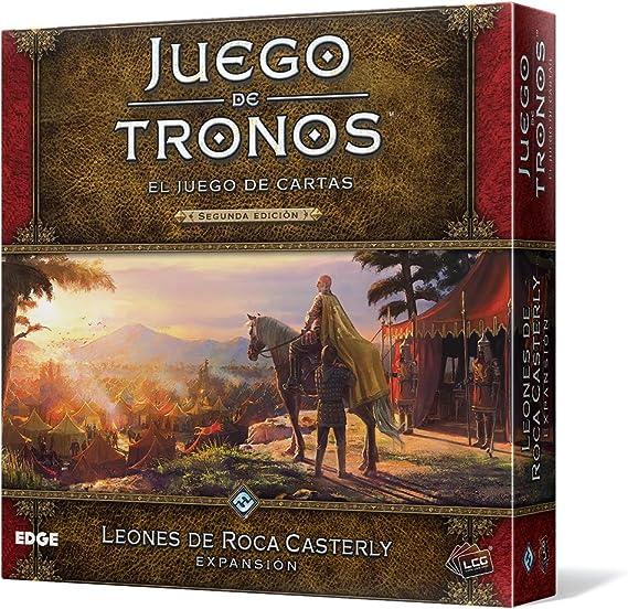 Fantasy Flight Games Juego de Tronos - Leones de Roca Casterly, el Juego de Cartas 2ª edición (Edge Entertainment EDGGT15): Amazon.es: Juguetes y juegos