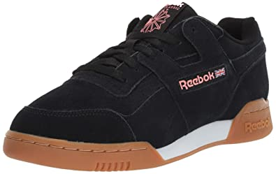29d33ef90f7 Reebok Men s Workout Plus Sneaker Black Digital Pink White Gum 3.5 ...