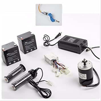 Amazon.com: Kit de motor eléctrico de 150 W con caja de ...