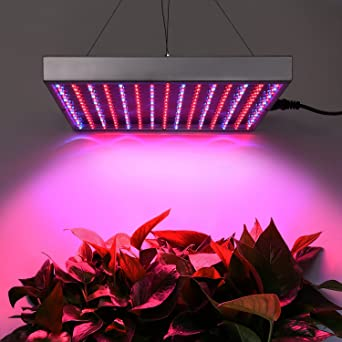Lámpara panel de 225 luces LED para cultivo hidropónico, 14 W