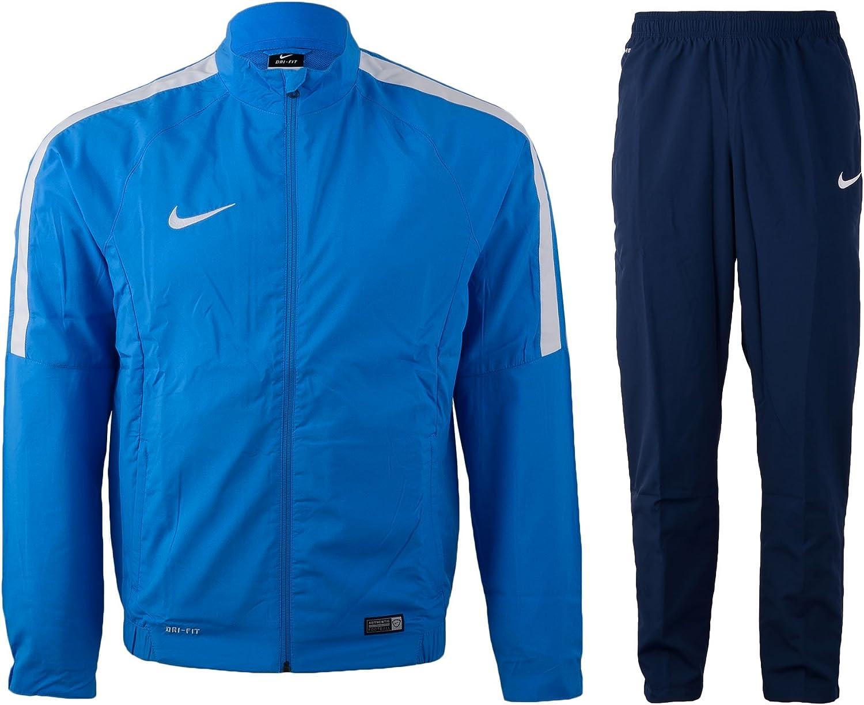 Nike Academy SDLN Woven Warm Up - Chándal Unisex, Color Azul ...