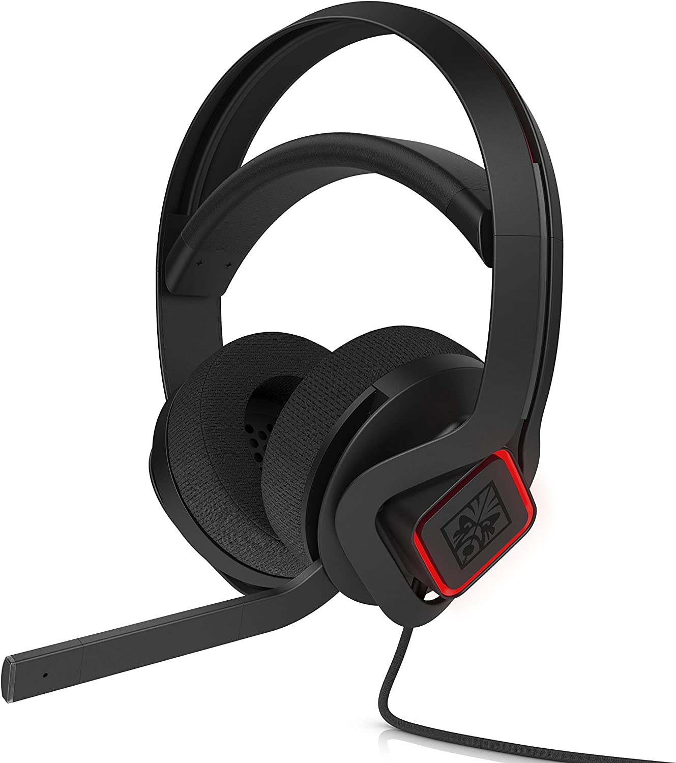 OMEN by HP Mindframe PC Gaming Headset with World's First FrostCap Active Cooling Technology (black) (Renewed)