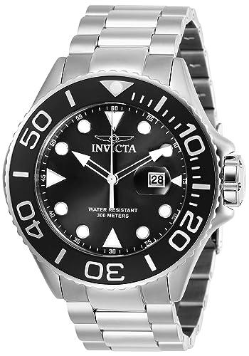 Amazon.com: Invicta Pro Diver Reloj de buceo de cuarzo para ...