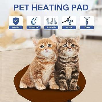 Alfombrillas Térmicas Mascotas NuoYo Manta de mascotas Cama para Mascotas Cama para Perros Gato con 7