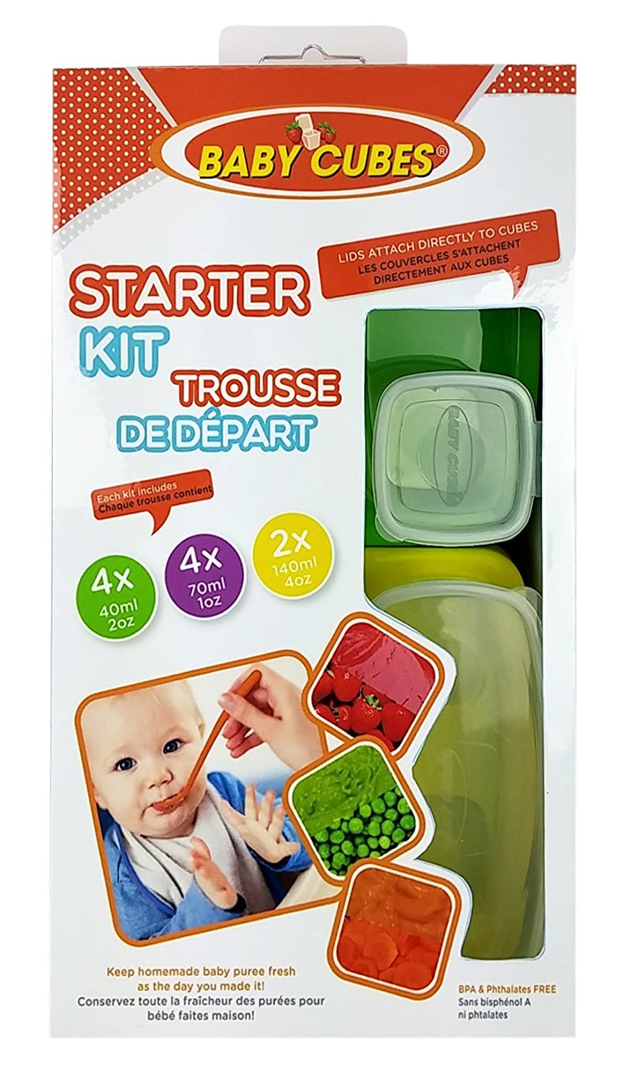 Petite Creations Baby Cubes Starter Kit, Assorted Sizes BSC027