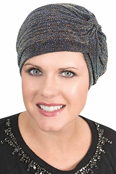 Headcovers Unlimited Yasmin Twist Turban | Retro Vintage Style Turbans for Women | Chemo Caps Yasmin - Gold at Amazon Womens Clothing store: