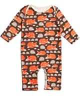 Winter Water Factory Long Sleeve Organic Cotton Romper Coverall, Boys, Girls, & Unisex Baby