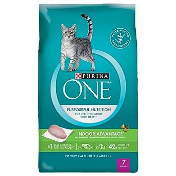 Purina ONE Pelota de pelo para uso en interiores y gestión de peso saludable para gatos: Amazon.es: Productos para mascotas
