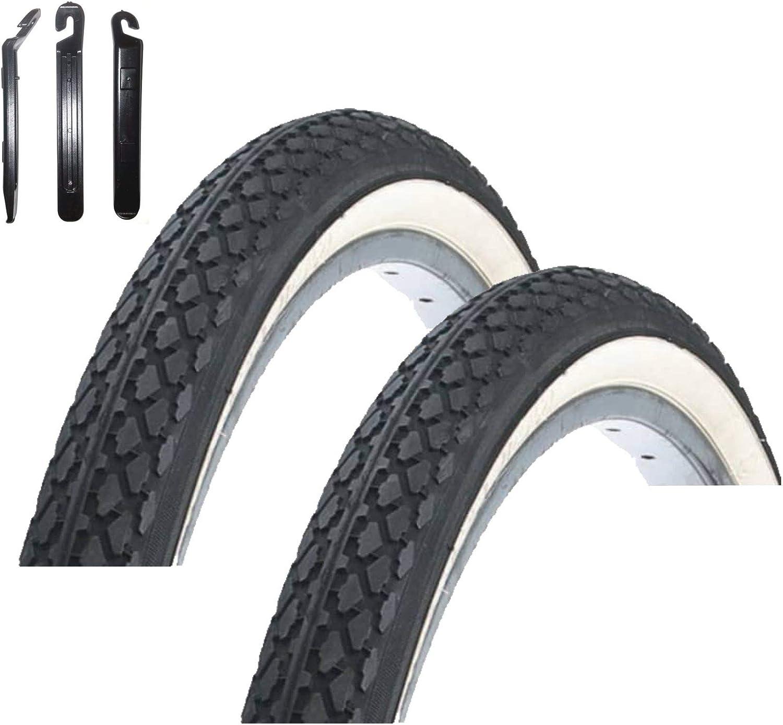 """Black Nutrak Traditional Bike Tyre 27 X 1-1//4/"""" 32-630 Etrto"""