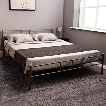 Home Discount Dorset King Size Bed Frame 5ft Metal Bed Frame