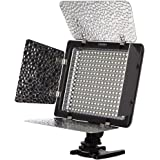 Koolertron YONGNUO製 YN-300 300球 LED ビデオライト with 輝度リモコン for SLR Camera IR Remote