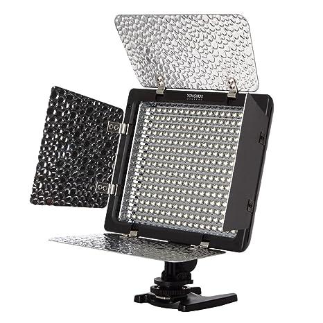 Yongnuo YN-300 Iluminación LED Luz de vídeo para cámara réflex ...