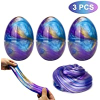 Luclay Galaxy Fluffy Slime Slime con 3 Contenedores