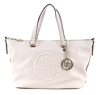 49f67c54f07f GUESS Korry Crush Satchel Bone  Amazon.fr  Chaussures et Sacs