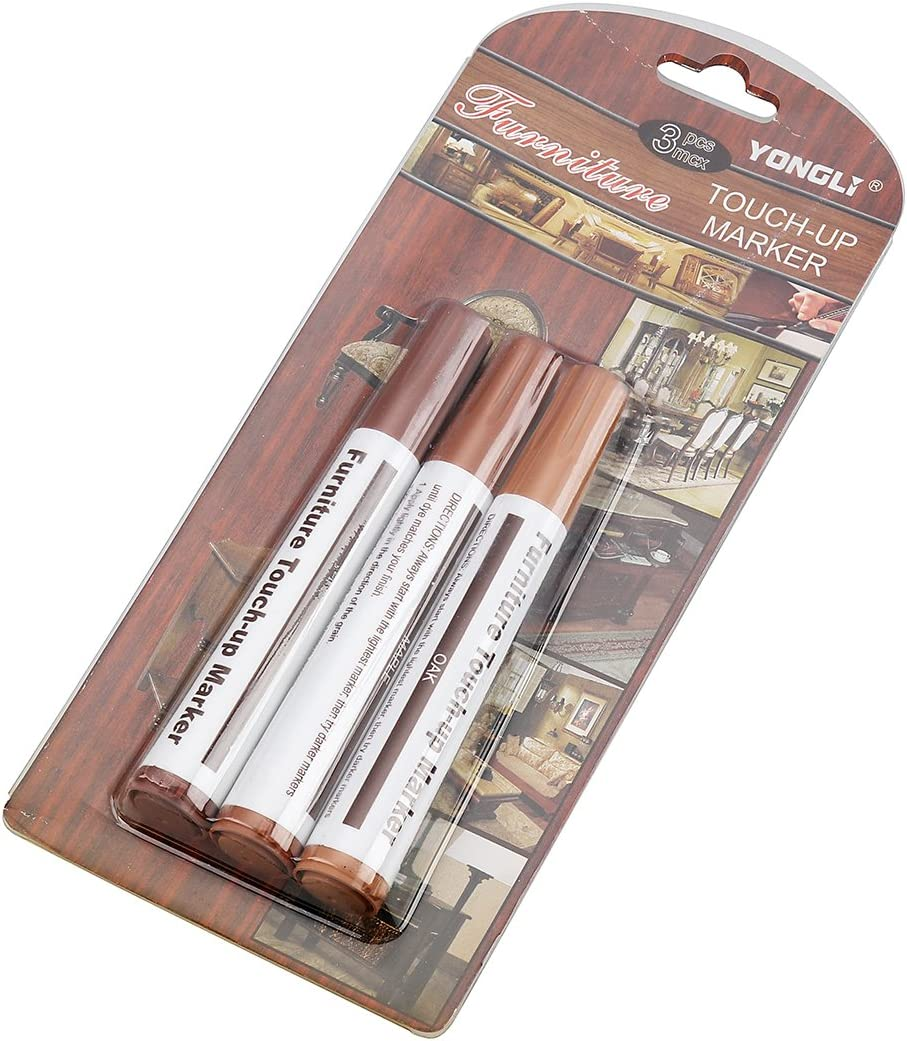 / Holz Filler Sticks/  / Scratch Wiederherstellung und Reparatur Lackstift Marker Kit/  / Finishing Produkte Fill-Stick Tinte 3 6PCS Style C Weiye M/öbel Reparatur-System/