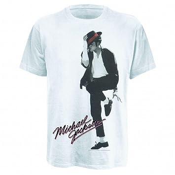 Bravado - Camiseta Michael Jackson: Dancer, Color Blanco, Talla S: Michael Jackson: Amazon.es: Música