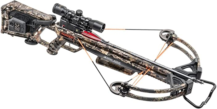 Wicked Ridge Invader X4 Crossbow Package with Multi-Line Scope, Quiver, Arrows, and ACUdraw (WR18005-5532)