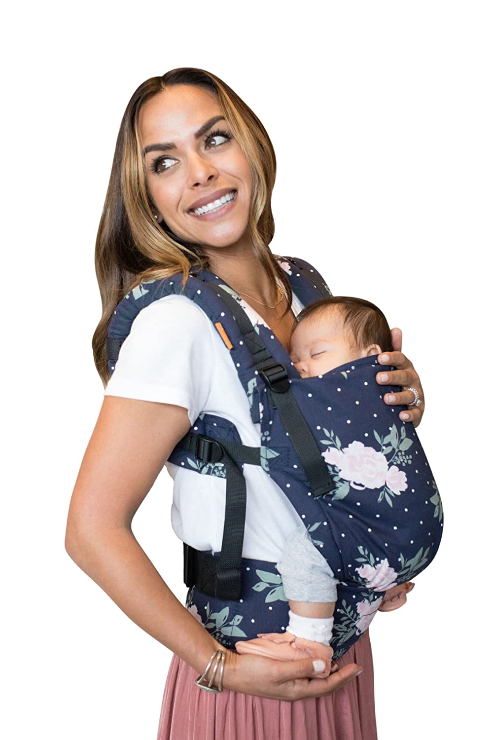 Tula Ergonomic Carrier – Blossom, Navy Pink, Free To Grow