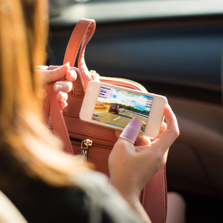 Gaming Finger Sleeve Touchscreen Finger Sleeve Anti-Sweat Breathable Touchscreen Finger Sleeve for Mobile Phone Games